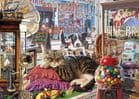 Abbey's Antique Shop 1000 Piece Jigsaw Puzzle | Gibson Puzzles | Retro Gifts